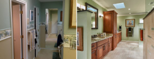Williams bath - before & after, 2016