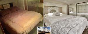 Camper trailer redo - bedroom