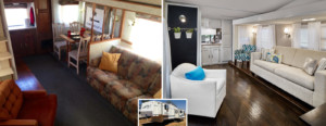 Camper trailer redo - main room