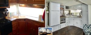 Camper trailer redo - kitchen