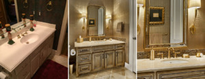 Study vanity - before & after
